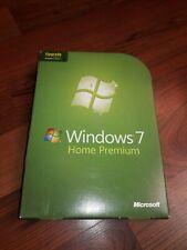 Microsoft Windows 7 Home Premium Upgrade Retail Version GFC-00020 COMPLETE