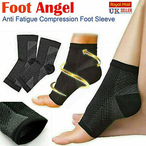 2 x Plantar Fasciitis Compression Socks Heel Foot Arch Pain Relief Support Pair