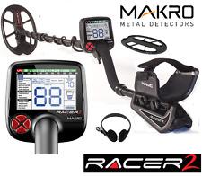 MAKRO RACER 2 METAL DETECTOR DETECTOR DE METALES DETECTEUR DE METAUX + HEADPHONE