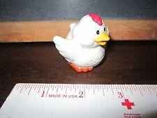 Fisher Price Little People Farm Barn Coop Pen Chicken rooster white hen bird egg