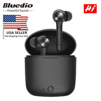Bluedio Hi wireless bluetooth 5.0 earphone for phone stereo sport earbuds HIFI