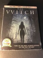The Witch [ Limited Edition STEELBOOK ] (Blu-ray + DVD) NEW