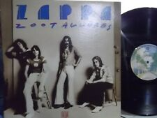 FRANK ZAPPA ZOOT ALLURES LP ON WARNER BROTHERS  RECORDS