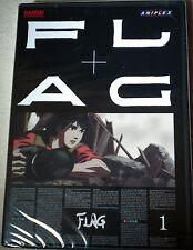 FLAG - Vol. 1 (DVD, 2007) Anime video Japanese & English Audio Bandai Rated 13+