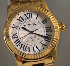 New Ladies Invicta Angel Swiss White Dial Roman Numerics Cruiseline Watch