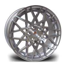 "18"" Stuttgart ST10 Alloy Wheels Silver Polished 5x100 fits Audi TT 8N Mk1"