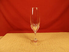 "Gorham Crystal Isabella Pattern Champagne Flute 8 3/8"""