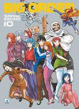 MANGA - Big Order N° 10 - Zero 214 - Star Comics - ITALIANO NUOVO