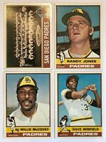 1976 Topps San Diego Padres Team Set - (28) Cards - Dave Winfield McCovey
