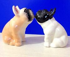 French bulldog porcelain figurines Dogs collection of dogs made in Russia