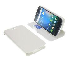 Custodia Per Acer Liquid Z630 Book-Style Protettiva Cellulare Libro Bianco