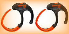 Cable Cuff PRO LARGE - Cable Clamp - Adjustable, Reusable - 2 Pack