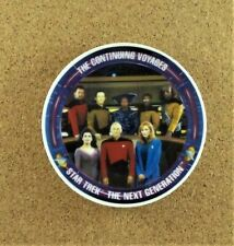 The Continuing Voyages Mini Plate Star Trek The Next Generation Paramount Pictur
