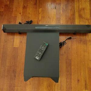 Sony 2.1 SA-CT260H Soundbar. Working remote & Wireless Subwoofer -*Please Read*
