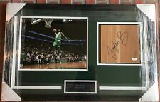 Jaylen Brown autographed signed floorboard framed NBA Boston Celtics JSA COA