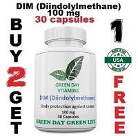 DIM (Diindolylmethane) 100mg  Antioxidant