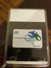 CA anti-virus software with bonus 2 GB flash drive