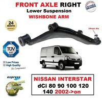 FRONT RIGHT Lower Wishbone ARM for NISSAN INTERSTAR dCi 80 90 100 120 140 2002->