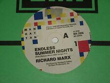 """RICHARD MARX *RARE 7"""" 45 ' ENDLESS SUMMER NIGHTS ' 1988 VGC+"""