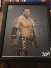 Brand New Raw Wwe The Miz 8x10 Photo Signed