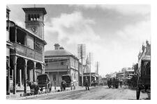 NSW WEST MAITLAND High Street c1900 modern Digital Photo Postcard