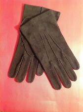 TOM FORD MENS $950 DARK BROWN SUEDE GLOVE NWTAG SIZE 9 ITALY🇮🇹