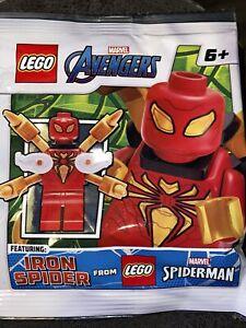 LEGO MARVEL AVENGERS IRON SPIDER SPIDERMAN POLYBAG SET FIGURE NEW SEALED 242108