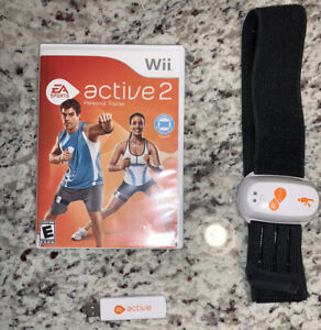 Nintendo Wii - EA Active 2: Personal Trainer, With Thumb Drive & 1 Leg Monitor