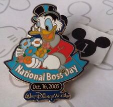 Scrooge McDuck National Boss Day 2003 WDW Cast Member Exclusive LE Disney Pin