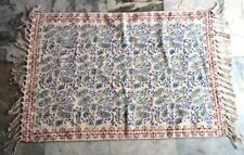 New Block Print Cotton Kilim Rug Hand Carpet Rug Home Decor Floor Mat Rug