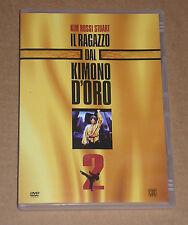 IL RAGAZZO DAL KIMONO D'ORO 2 (KIM ROSSI STUART) - DVD FILM COME NUOVO (MINT)