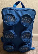 Lego Brick Backpack Pink 6 Small Zipper Pockets Adjustable Straps Kids