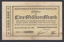 Hamborn-Neumühl - Steinkohlenbergwerk Sindacato Neumühl - 1 Million Marchi