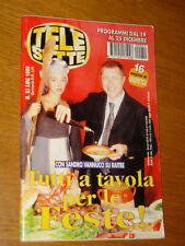 TELESETTE 1999/51=SANDRO VANNUCCI=WALLACE & GROMIT=IONE SKYE PETER WELLER=ECT