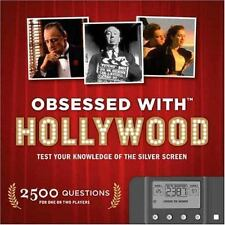 Obsessed with Hollywood:Test Your Knowledge Silver Screen Fun Movie Trivia Book