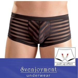 Svenj. Premium Basic Transparent Knack-Po Streifen Pants GEIL in S M L XL XXL