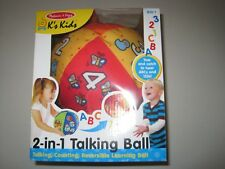 Melissa & Doug K's Kids 2-in-1 Talking Ball Educational Toy - ABCs and Counting