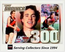 2011 Select AFL Infinity Series 300 Game Case Card CC40 Terry Daniher (Essendon)
