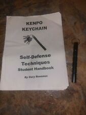 Kenpo Keychain & Self Defense Techniques Student Handbook By Gary Ronemus 2000