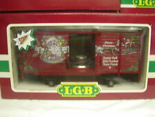 LGB 4335S 43352 SANTAS CHRISTMAS SOUND BOXCAR CAR