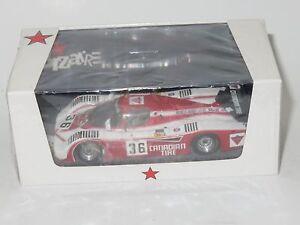 1/43 Sehcar C6 Ford Cosworth Brun Motorsport  Le Mans 24 Hrs 1983  J.Villeneuve