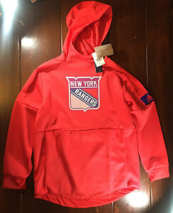 Adidas New York Rangers NHL Game Mode Pullover Style Men's Size Large [EJ7476]