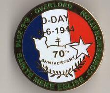 """WW2 - Insigne pin's """"70ème anniversaire du Débarquement"""" - Grand modèle"""