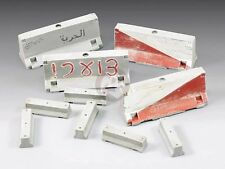 Royal Model 1/35 Concrete Jersey Traffic Road Barriers (2 types, 10 pieces) 721