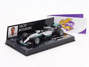 Minichamps 410160006 # Mercedes AMG W07 Winner Australian GP 2016 N.Rosberg 1:43