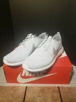 New. Nike Roshe Two Roshe Flyknit Mens Shoes Pure Platinum/White-Wolf Size 11.5