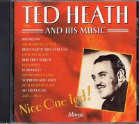 Ted Heath And His Music - Nice One Ted (2002 CD) Remastered (New & Sealed)