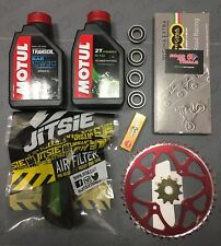 Beta Rev3 Trials Pro Service Kit 2 Oil chain sprockets wheel bearings plug 02-08