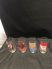 Vintage Olympic Games 1908 1912 1956 1972 Water Drinking Glasses Cups Set