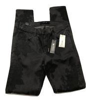 J Brand Womens Black Rose Super Skinny Mid Rise Skinny Jeans Size 26 MSRP $278.